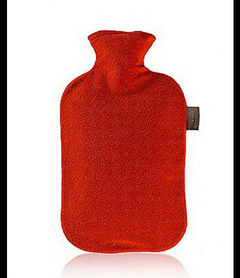 Túi chườm nóng Fashy bọc lông cừu - Màu Đỏ