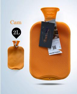 Túi chườm cổ điển Fashy Germany (Cam)