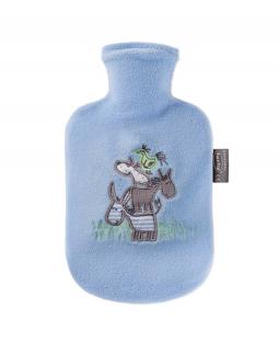 Túi chườm nóng bọc lông cừu trẻ em - Màu Xanh