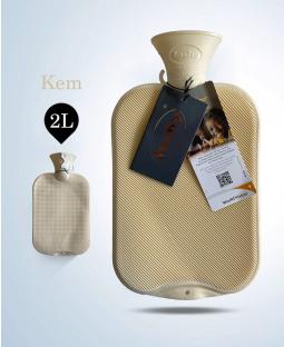 Túi chườm cổ điển Fashy Germany (Kem)
