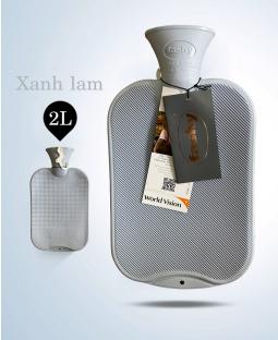 Túi chườm cổ điển Fashy Germany (Xanh lam)
